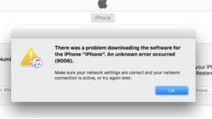 Как устранить ошибку 39 в iTunes при обновлении