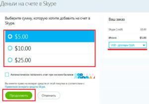 Для чего и как вносить денежные средства на Skype