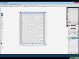 Установка и удаление сетки в Adobe Photoshop