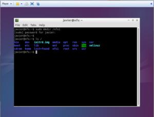 Настройка NFS сервера в Ubuntu