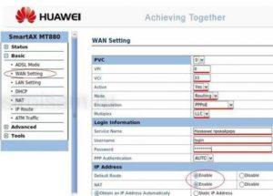 Подключение и настройка модема Huawei
