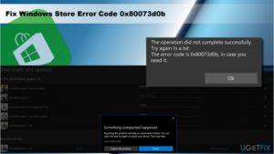 Решение ошибки 0x80240438 магазина Виндовс 10