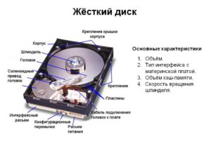 Определение скорости жёсткого диска