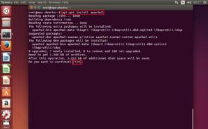 Настройка прокси-сервера в Убунту