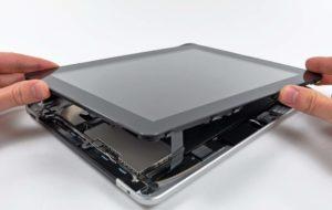 Замена экрана на планшете
