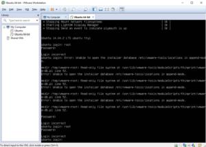 Восстановление системы в Ubuntu