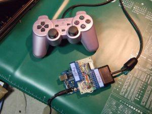 Подключение к компьютеру джойстика от PS1