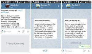 Бот Номер телефона в Telegram