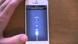 Подключение iPhone к iTunes