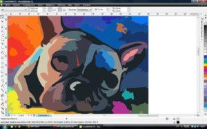 Превращение растрового изображения в векторное в CorelDraw