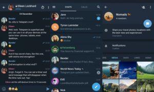 Популярные группы приложения «Telegram»