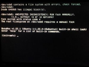 Исправление ошибок файловой системы Ubuntu «Файловая система доступна только для чтения»