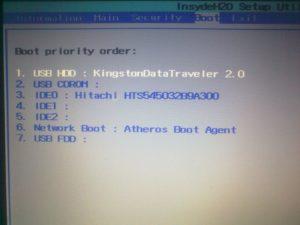 Запуск ноутбука или компьютера с флешки
