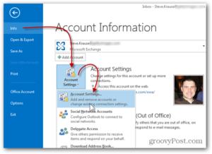 Добавление фото к профилю пользователя в Outlook