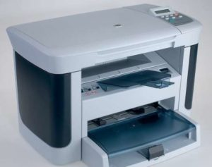 Сканирование с помощью принтера HP LaserJet M1120