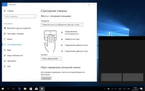 Порядок включения, отключения и настройки жестов тачпада в Windows 10