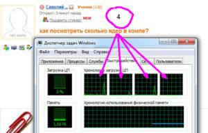 Определение количества ядер в компьютере или ноутбуке