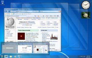 Эффект Aero в Windows 7