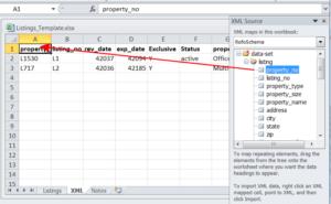 Преобразование файлов Excel в XML и обратно