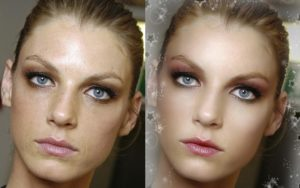 Как делается ретушь глаз в Фотошопе