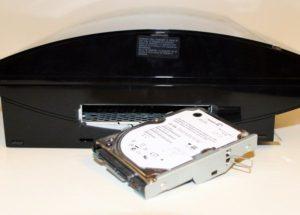 Подключение внешнего жёсткого диска к PS3