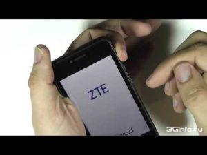 Прошивка телефона, смартфона и планшета ZTE