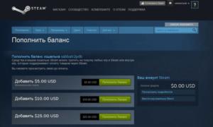 Несколько способов пополнения счета Steam