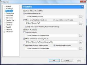 Исправление ошибки «Не смонтирован предшествующий том» в uTorrent