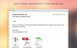 Как открыть winmail.dat на компьютере