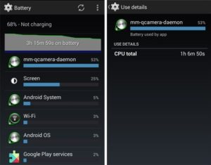 Как исправить быструю разрядку батареи на Android