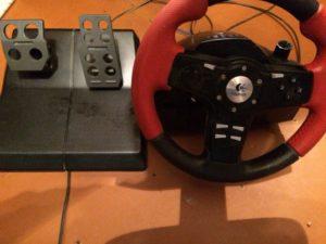 Настройка руля и педалей для популярных игр