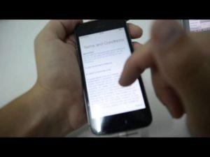 Активация и настройка Айфона при первом включении