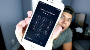 Разблокировка смартфона