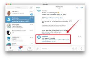 Группалари в «Telegram»