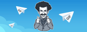 GIF анимация в «Telegram»: как сохранить и отправить