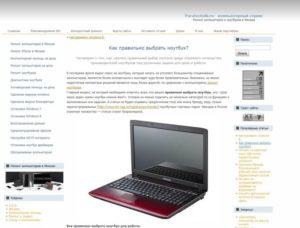 Как выбрать ноутбук для работы — основные параметры для профессионального успеха