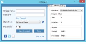 Особенности настройки и использования программы mHotspot