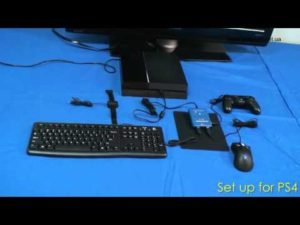 Способы подключения клавиатуры и мыши к PS3