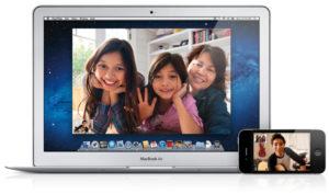 Работа с встроенной камерой на MacBook