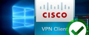 Как настроить Cisco VPN Client в Windows 10 и Windows 7