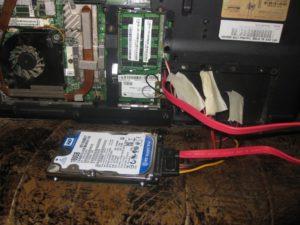 Подключение винчестера к компьютеру или ноутбуку