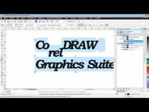 Правильная работа с текстом в CorelDRAW