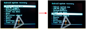 Прошивка ОС Андроид через флешку