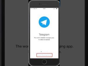 Использование «Telegram» на iPhone