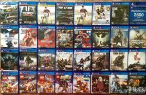 Установка игры на PS4 с диска