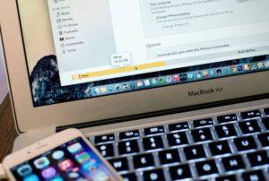 Копирование фото и фильмов на MacBook