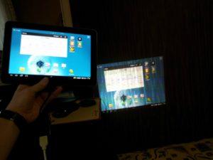 Способы подключения планшета к проектору