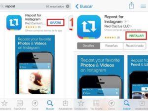 Как репостнуть фото из Instagram на iPhone