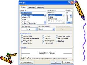 Как делается зачёркивание текста в редакторе Microsoft Word