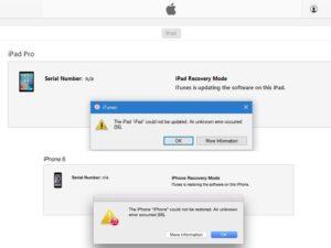 Методы устранения ошибки 21 в iTunes при восстановлении прошивки iPhone